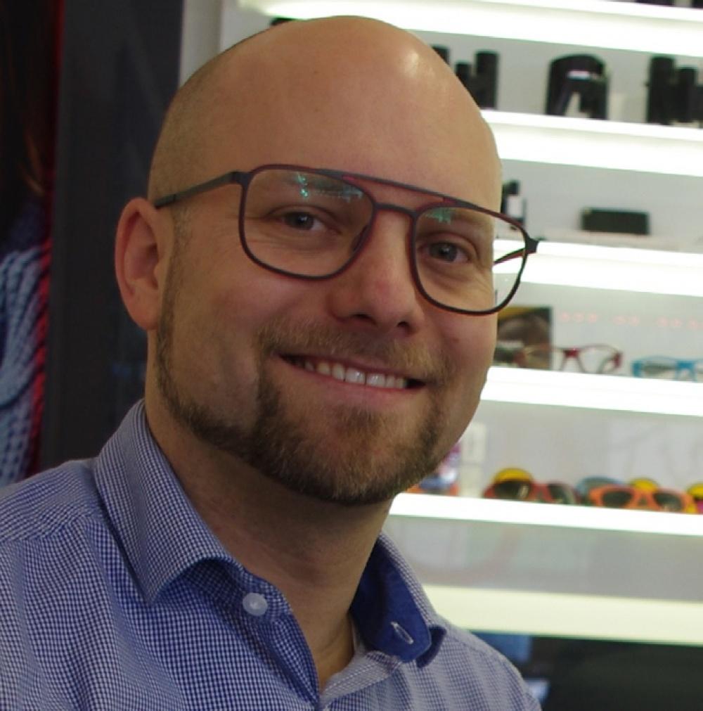 Seit elf Jahren bei Optik Meyer: Marco Wyss.