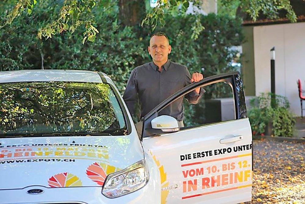 OK Präsident Raymond Keller freut sich auf die erste EXPO – Gewerbeausstellung unteres Fricktal – vom 10. bis 12. Mai 2019 in Rheinfelden.