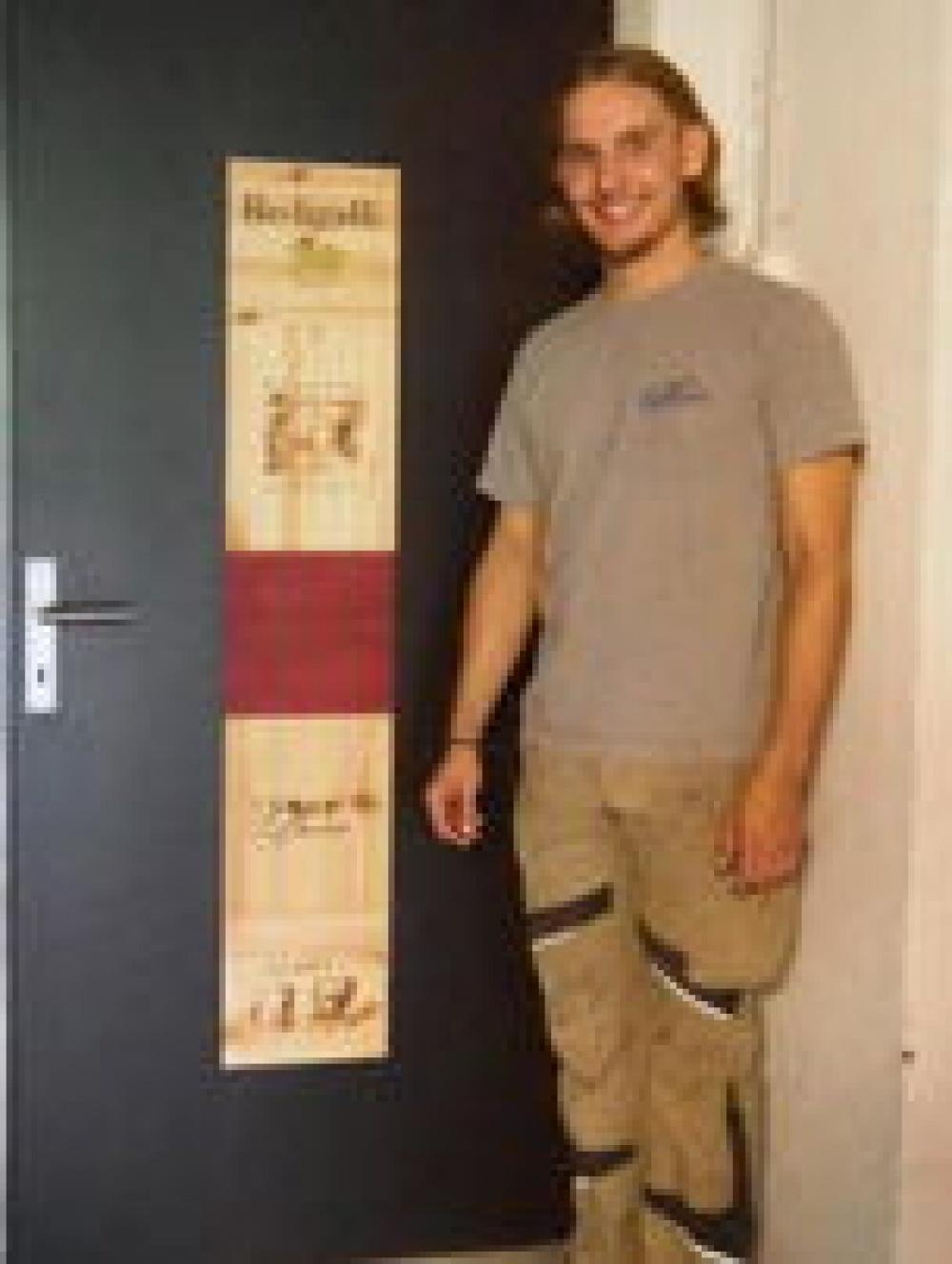 Abschlussarbeit Raphael Wyrsch: Tür.